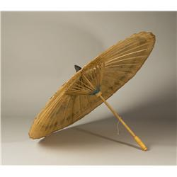 20th C. Chinese Paper Parasol