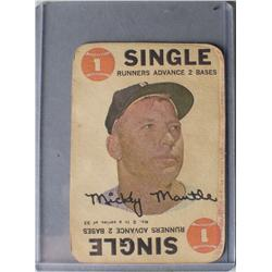Mickey Mantle 1968 Topps #2 Baseball Card
