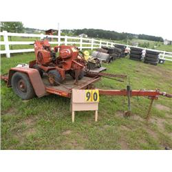 V-252 Ditch Witch & trailer