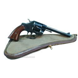 Antique Colt Model 1896 US Army Revolver .38 Caliber