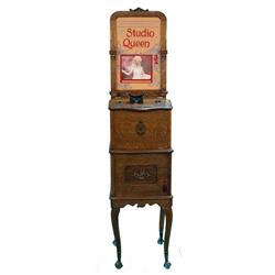 1 Cent Floor Model Mutoscope Machine