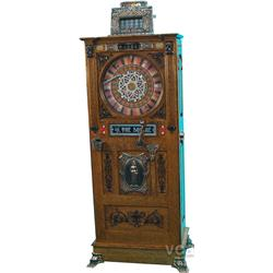 "5 Cent Mills ""On The Square"" Upright Slot Machine"