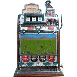 5 Cent Mills Baseball Vender Slot Machine