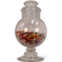 Large Glass Candy Jar w/ Lid