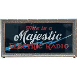 """Majestic Electric Radio"" Light-Up Box Sign"