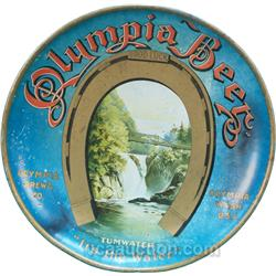 Olympia Beer, Olympia Brewing Co. Tin Charger