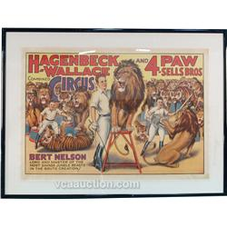 Hagenbeck-Wallace & 4 Paw-Sells Bros. Combined Circus L