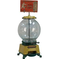 Coin-Op  E-Z Ball Gum Machine  c1908