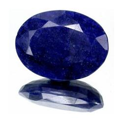 4+ct. Rich Royal Blue African Sapphire Oval Cut (GMR-0027A)
