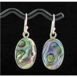 Sterling Mother of Pearl Earrings (JEW-1390)