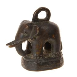 Elephant Opium Weight  Early 1900s Bronze (ANT-036)