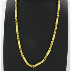 22k Gold Vermeil Necklace 23  (JEW-1397)