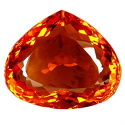 270.30ct Dazzling Pear  Honey Reddish Orange Citrine  (GEM-23316)