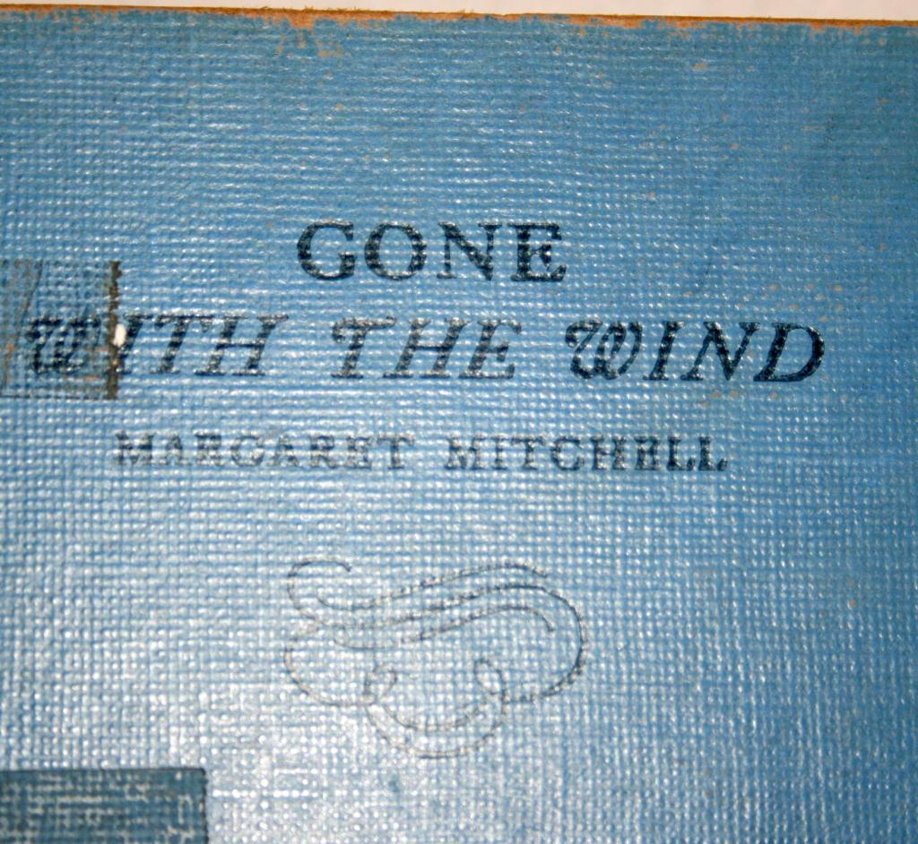 an analysis of the novel gone with the wind by margaret mitchell Clark gable (1901-1960) reading the novel 'gone with the wind' by margaret mitchell his played rhett butler in the mgm film adaption of the book (photo by hulton archive/getty images.