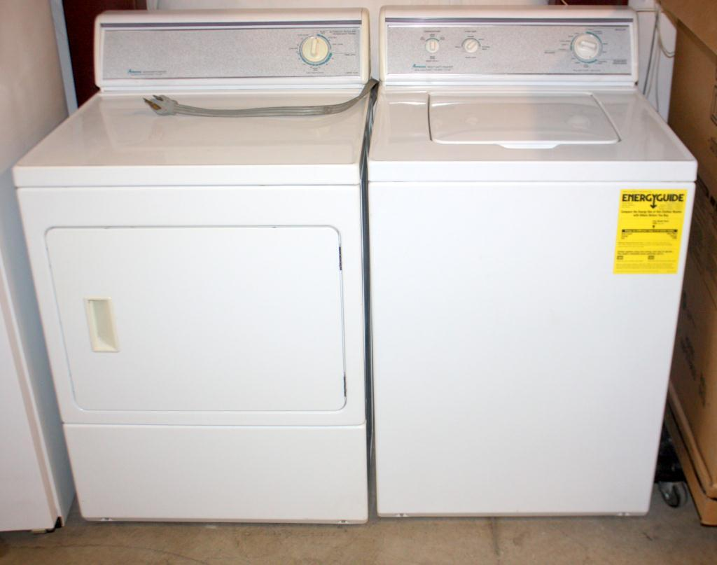Amana Heavy Duty Washer and Electric Dryer