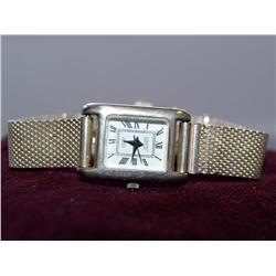 Surrisi White Dial Quartz Silver Band Watch