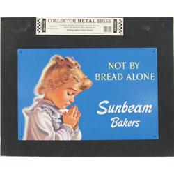 Collectible Metal Sign Sunbeam Bread
