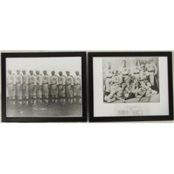 Two Photo Prints of Baseball Teams 1910 & 1882 From Silver City NM
