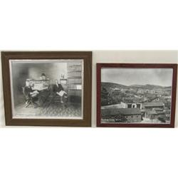 Two 1930's Photo Prints of Silver City, NM