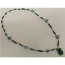 Franklin Estate Scarab Necklace