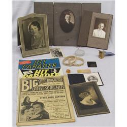 Antique Photos Sleeve Cuffs Mailer and Tintype