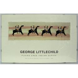 George Littlechild Plains Indian Series Poster