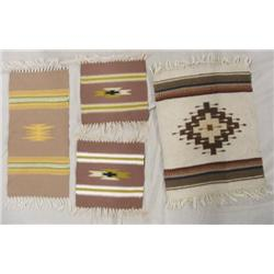 4 Chimayo Weavings