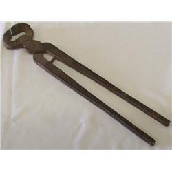 Primitive Farrier's hoof trimmer Tool