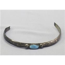 Vintage Navajo Silver Turquoise Head Band