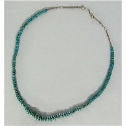 Santo Domingo Blue Gem Turquoise Necklace