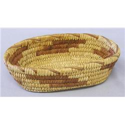 Vintage Papago Hand Woven Basket