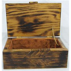 Vintage Pieced Wooden Box