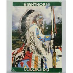 Signed Ben Nighthorse Campbell Poster