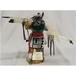 Hopi Eagle Dancer Kachina By Davis