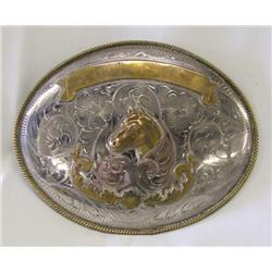 Mexican Cowboy Trophy Belt Buckle