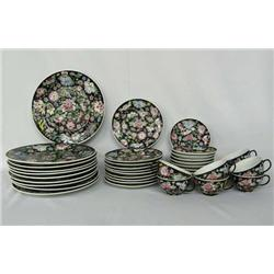 Chinese Fine Porcelain China, Service for Eight