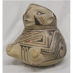 1960 Mata Ortiz Effigy Pottery by Ollivar