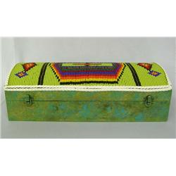 Beaded Box By Kills Thunder