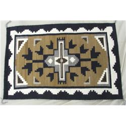 Navajo Two Gray Hills Weaving Rug