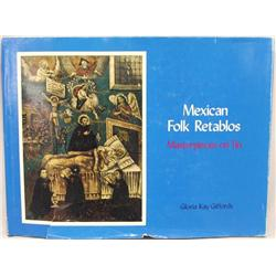 Hardback Book Mexican Folk Retablos by Giffords