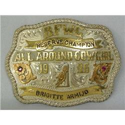 1996 Red Bluff Cowgirl Rodeo Buckle