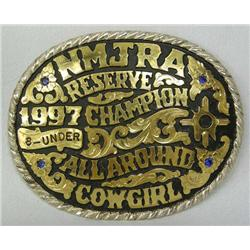 1997 Red Bluff Cowgirl Rodeo Buckle