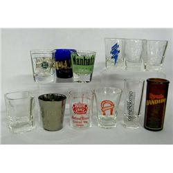 Collection Of 12 Shot Glasses
