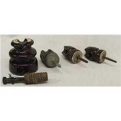 4 Brown Insulators