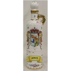 Spanish Porcelain Decanter