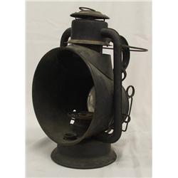 Antique Railroad Electrified Lantern