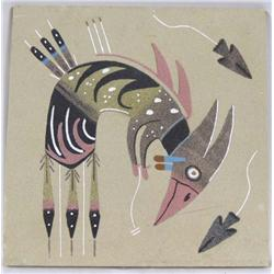 Original Sand Painting by M Yazzie