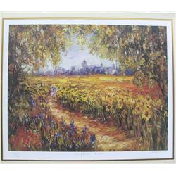 Print by Duave Sunflower Field
