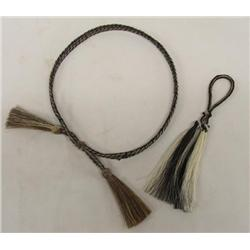 Horsehair Keychain and Hatband
