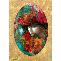 Rina Sutzkever,  Mystery, Signed SS on Wood
